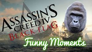 Assassins Creed 4 Memes - assassin s creed iv black flag funny moments montage dead memes
