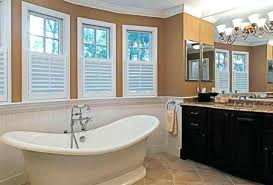 curtain ideas for bathroom windows bathroom windows inside shower madebyni co