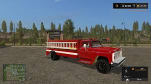 minecraft fire truck 1972 ford f600 fire truck v1 0 modhub us