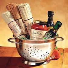 pasta basket compact pasta colander gift set gourmet snacks and