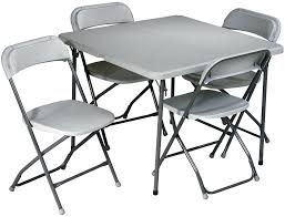 Folding Table With Chairs Stored Inside Collapsible Table And Chairs Size Of Home Table And Chairs