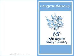 65 wedding anniversary free printable wedding anniversary cards