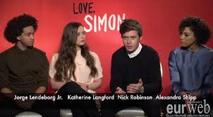eurweb sits down with the cast and crew of love simon watch