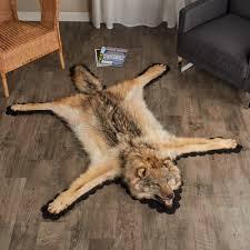cheap fake bear skin rug with head bear rug with head black bear
