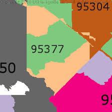 san jose unified map san jose california zip code boundary map ca