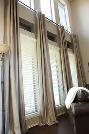 Curtain Ideas For Bedroom by Best 25 Tall Window Treatments Ideas On Pinterest Tall Window