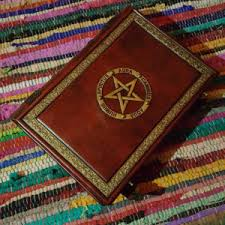 Pentacle Rug 10 X 13 Book Of Shadows Leather Journal