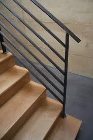 Metal Stair Rails And Banisters Best 25 Steel Railing Ideas On Pinterest Perforated Metal