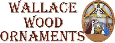 wallace wood ornaments quality handcrafted and personalized wood