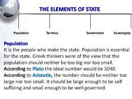 state and its elements