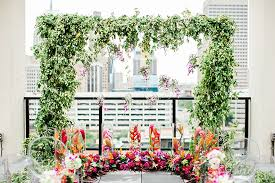 wedding arches okc locale in bloom aloft oklahoma city with tony foss flowers