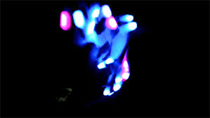 Light Up Gloves Light Up Rave Gloves Raveswear Stunning Lightshows