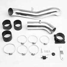 nissan 350z air intake 06 nissan 350z z33 black polished aluminum cold air intake pipe