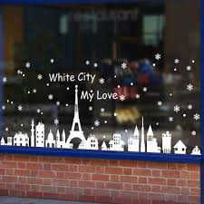 Christmas Window Decorations by Online Get Cheap Christmas Window Displays Aliexpress Com