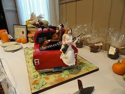 hunting truck wedding cake a better view of the bride and u2026 flickr