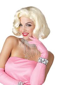 marilyn monroe costume spirit halloween deluxe diamonds marilyn monroe blonde wig ladies fancy dress