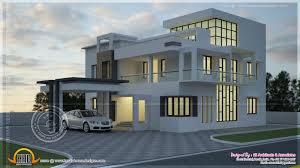 190 square meter contemporary style villa kerala home design and