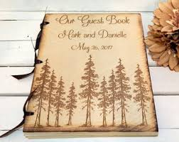 wedding registry books wedding guest books etsy