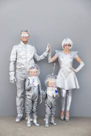 Family Of 3 Halloween Costumes Diy Space Family Costumes Tell Love And Partytell Love And Party