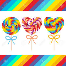 candy for s day kawaii s day heart shaped candy lollipops with bow