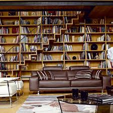 apartment interior home library design for your reading room