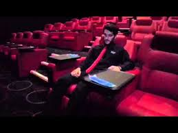 how to use cineworld vip experience luxury reclining chairs youtube