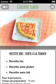 application recettes de cuisine cuisine saine du bon du bio des recettes simples dans une