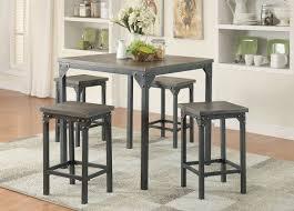 infini furnishings 5 piece counter height dining set u0026 reviews