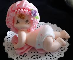 baby cake topper baby girl figurine baby shower cake decoration baby cake topper