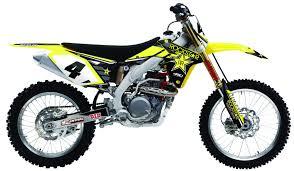 rockstar motocross goggles rockstar suzuki rmz450 motocross complete graphics kit 1stmx co uk
