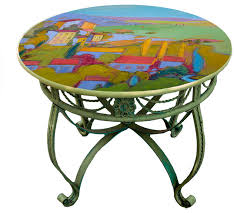 Lime Green Bistro Table And Chairs Beautiful Painted Dining Room Tables Gallery Rugoingmyway