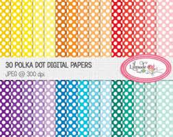 pop digital scrapbook paper bright primary color
