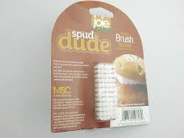 am agement tiroirs cuisine joie msc spud scrub mini brush potato scrubber 1 a kitchen bar chef