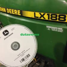 john deere lx178 lx188 lawn tractor technical service tech manual