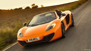 orange mclaren wallpaper 2013 mclaren mp4 12c spider front hd wallpaper 129