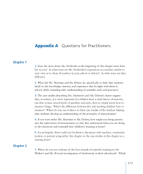 how to write a research paper in mla format appendix a questions for practitioners ready set science page 171