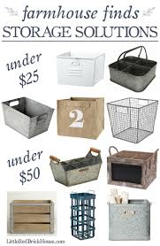 farmhouse style storage solutions for every budget farmhouse
