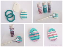baking soda easter eggs easter ornaments