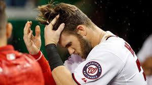 bryce harper gives haircuts to little nationals in mlb commercial