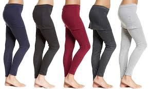 Yoga Pants With Skirt Attached Mini Skirt W Attached Leggings Groupon Goods