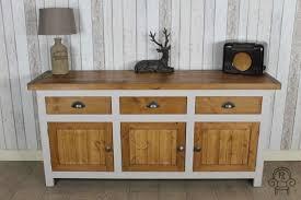 reclaimed pine rustic sideboard