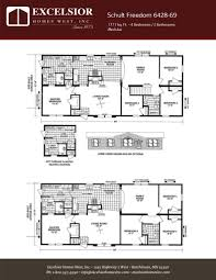 Home Floor Plans Mn Schult Freedom 6428 69 Excelsior Homes West Inc
