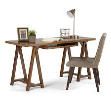 Overstock Office Desk Wyndenhall Hawkins Desk Free Shipping Today Overstock Com
