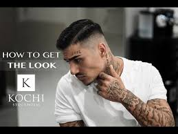 come over hairstyle bald fade comb over new 2017 youtube