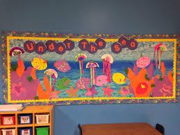 under the sea ocean theme preschool bulletin board jellyfish