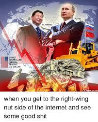 X I Meme - zionist controlled federal reserve us dollar xi jinping putin