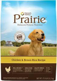 nature u0027s variety prairie chicken u0026 brown rice recipe dry dog food