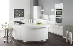 curved kitchen island modern kitchen designs with curved kitchen island
