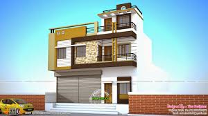 2 home designs 2 house plans with shops on ground floor house ground floor and
