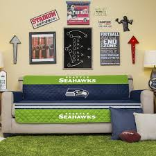 sofa slipcovers ebay amazon com nfl seattle seahawks sofa couch reversible furniture
